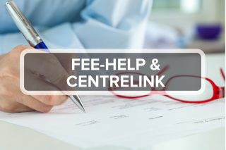 FEE-HELP and Centrelink