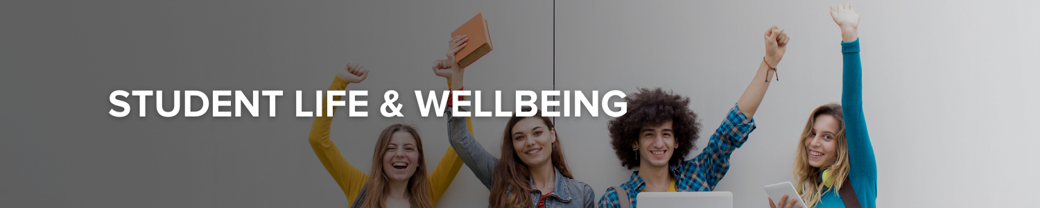 student life and wellbeing banner